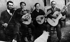 La Banda de Modesto. Hacia 1935. Fuente: Ronda de Motilleja