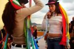 """Un baile durante la Fiesta de Inocentes en """"El Garrobillo"""" de Águilas. Foto: web del grupo."""