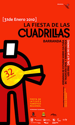 Cartel Fiesta de las Cuadrillas 2010
