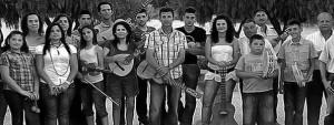 Parte de la Cuadrilla de Aguaderas-Lorca (Murcia). Foto: web del grupo.