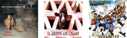 Discografía Grupo Folkl. Ind. El Arroyo los Cagaos