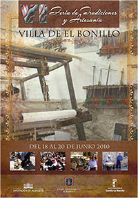 Cartel Feria de las Tradiciones de El Bonillo 2010