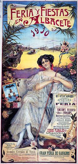 Cartel Feria de Albacete 1910