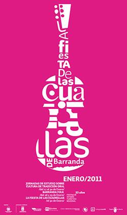 Cartel de la Fiesta de las Cuadrillas de Barranda 2011
