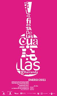Cartel Fiesta de las Cuadrillas 2011.