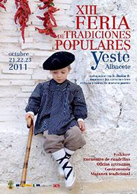Cartel Feria Tradiciones Yeste 2011